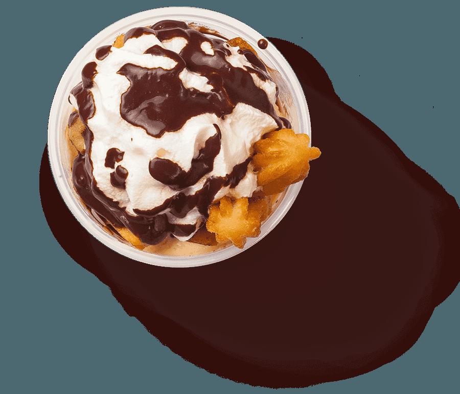 Churro sundae